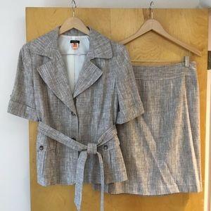 Linen Business Suit